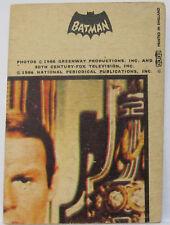 RARE # 33 Robin 1966 Batman Gum Card A&BC Black Cowl Europe Dutch Belgium Issue