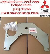 1995 1999 Eclipse Talon Turbo 4g63 FWD Starter Shim Block Plate NEW OEM