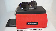 New Authentic Sunglasses Dolce & Gabbana Violet/Grey Gradient DG4243 28908G 53