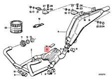 Genuine BMW 47E R 100 GS PD 80 CH Front Silencer 18121452394