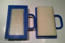 2 x BRIGGS & STRATTON V-TWIN ENGINE AIR FILTER - NON-GENUINE 499486S AIRFILTER