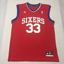 Andrew Bynum Medium Red Jersey 33 Philadelphia 76ers Nba Basketball Lakers