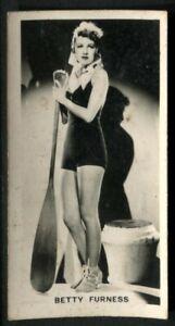 Tobacco Card, Carreras, FILM STARS, 2nd Series, 1938, Betty Furness, #26