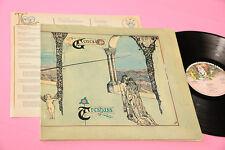 GENESIS LP TRESPASS ORIG GERMANY 1970 EX GATEFOLD LAMINATED AND INSERT !!!!!!!!!