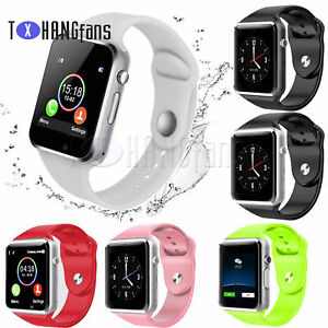 A1 Smart Watch Bluetooth Waterproof GSM SIM Phone Cam For Android Samsung ATF