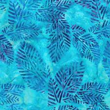 Robert Kaufman Batik Fabric By The Half Yard, Arboretum 4, 16852-201 Jewel
