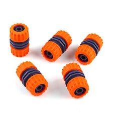 "5pcs 1/2"" Hose Pipe Connector Garden Joiner Mender Extend Repair Adaptor Coupler"