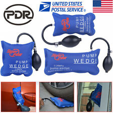 3× PDR Tools Air Pump Wedge Automotive Hand Inflatable Car Door Window Hand Tool