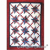 Gallantly Streaming Quilt Pattern by Cozy Quilt Designs