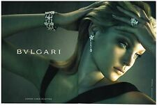 PUBLICITE ADVERTISING 2006   BULGARI collection FLOWER DAIMOND bijoux (2 pages)