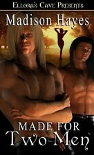 MADE FOR TWO MEN by Madison Hayes EROTIC FUTURISTIC SCI-FI MENAGE MFM ~ OOP HTF