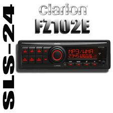 Clarion FZ102E auto 1-DIN stereo Radio MP3 USB AUX-IN RDS con profondità di montaggio basso