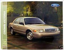 2004 Ford Crown Victoria sedan new vehicle brochure