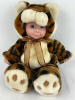 "Passport 15"" Plush Toy Tiger Baby Doll In Costume Stuffed Animal Halloween Cute"