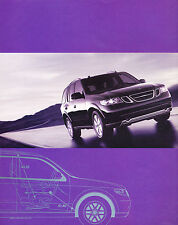 2005 SAAB 97x 9-7x 2-page Original Advertisement Car Print Ad J344