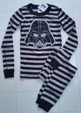 NWT Hanna Andersson Organic Star Wars Long John Pajamas DARTH VADER 140 10