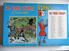 De rode ridder nr 99  EERSTE Druk ongekleurd  1982