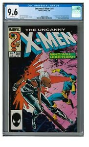 Uncanny X-Men #201 (1986) Key 1st Cable as Baby Nathan CGC 9.6 LL013
