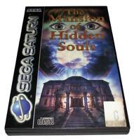The Mansion of Hidden Souls Sega Saturn PAL *Complete* #2