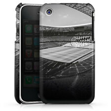 Apple iPhone 3Gs Premium Case Cover - Stadion FC Bayern - Black White