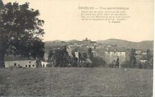 COGOLIN vue panoramique quatrain poème cliché chapeau