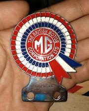 vintage CLASSIC MG MINI COOPER CAR BADGE RACING PART PRICE FOR SALE BRITISH CLUB
