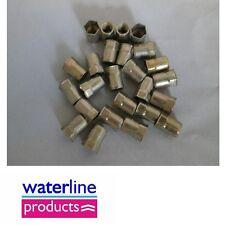 8mm, m8 acciaio hexserts Rivnuts, META 'Hex, confezione da 25 (56)