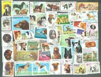 Dogs on stamps 300 all different collection