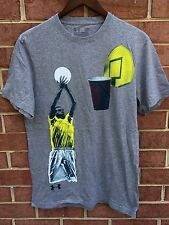 Under Armour Charged Stephen Curry Golden State Warriors Red Solo Cup Grey Tee M