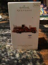 2012 Hallmark Keepsake Ornament 1936 Ford Fire Engine Fire Brigade #10