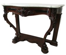 Console in noce Luigi Filippo piano marmo - epoca 1850  - consolle -  buffet