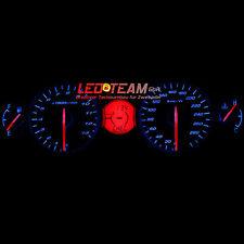 Suzuki GSX 1300R HAYABUSA BJ 08-17 Tacho Beleuchtung Umbau LED Set BLAU LED-Team