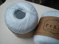 "Peria Knitting Yarn ""Bambu"" Bamboo, Rayon, Linen Blend Light Fingering, 50g/230m"
