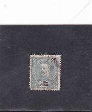 CAPE VERDE D. CARLOS I 25 REIS (1898-01)  VARIETYPerf. 12