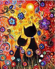 "Cartoon Animal16X20"" Paint By Number Kit DIY Acrylic Painting on Canvas Unframe"