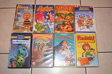 Verkaufe 8 Kinderfilme Biene Maja, Pumukel, Monster AG,usw Videokasetten/VHS
