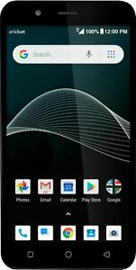 "Cricket Vision Android Smartphone Cricket Wireless Prepaid | 5.5"" Display 