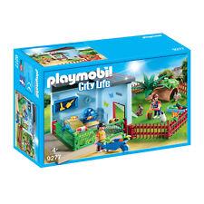 9277 Playmobil pequeño animal embarque con rueda de vida en la ciudad de hámster adecuado para una