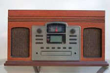 Crosley CR2405H-PA Director CD Recorder w/ Cassette Player Paprika