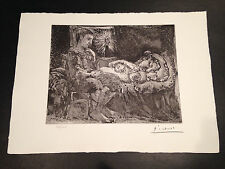 """Picasso """"Suite Vollard"""" Bloch #226, Limited Edition, Picasso Family Authorized."""
