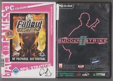 SUDDEN STRIKE 2 + Fallout Tactics Sammlung PC Spiele
