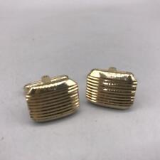 Vintage Mens Gold Tone Cufflink Set