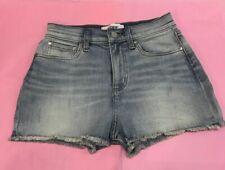 Victoria's Secret PINK Denim Shorts Size 2US - UK SELLER -