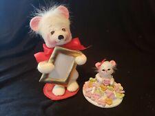New listing Annalee Mouse Bear Dolls Girl & Boy Valentine - Hearts