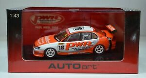 1:43 Holden Commodore VY PWR 2004 Paul Weel #16 Kmart w/ Certificate Autoart