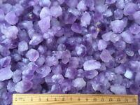 2 LB Bulk Purple Amethyst Tips Quartz Point & Pieces Natural Crystal Specimen