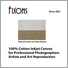 "Cotton Canvas Matte for Epson Printers 17"" x 40' - 5 Rolls"