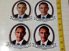 RARE Lot 4 SUPREME BARACK OBAMA SKATEBOARD STICKERS New 44th US President sample
