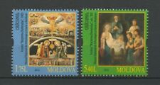 Moldova2012 Christmas 2 stamps
