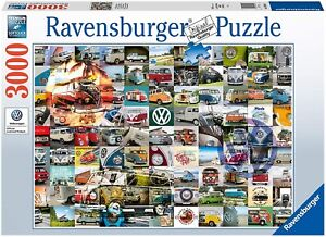 NEW Ravensburger 16018 VW Campervan Moments 3000 Piece Puzzle for Adults
